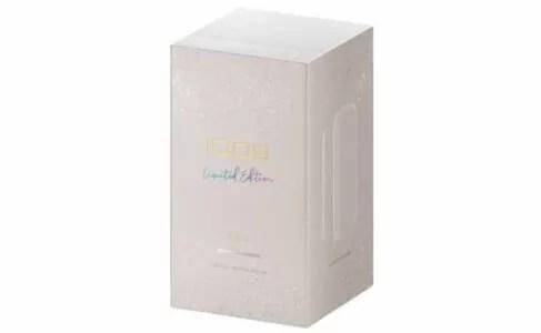 アイコス3デュオのムーンシルバー・パッケージ公式画像