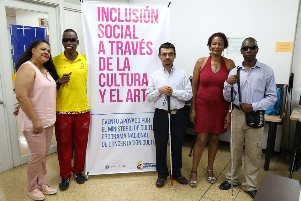 Biblioteca Departamental muestra resultados del Proyecto Inclusión social a través de la cultura y el arte
