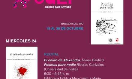Feria Internacional del Libro de Cali 2018 – Bulevar del Rio 18 al 28 de Octubre