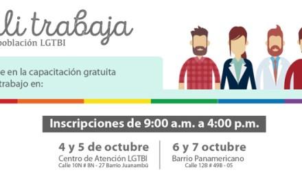 Capacitación gratuita para la comunidad LGTBI