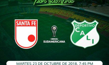 HOY Deportivo CaliVS Santa Fe Copa Sudamericana