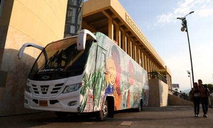 Biblioteca Departamental presente en Feria Internacional del Libro Cali. Con el Bibliobús estará en 5 municipios del Valle del Cauca