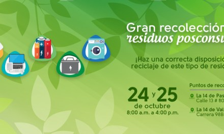 Jornada de recolección de residuos posconsumo 2018