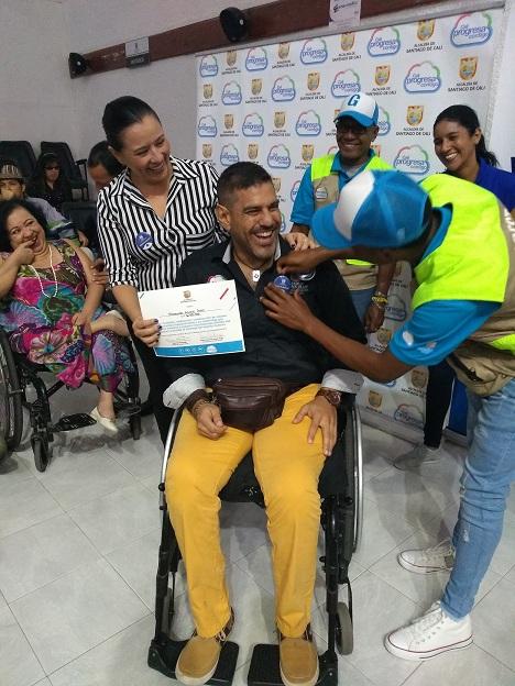 Reconocimiento en Día Internacional de las personas con discapacidad