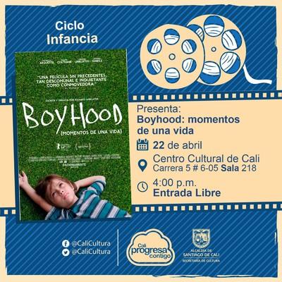 «Ciclo Infancia Película: Boyhood: momentos de una vida de Richard Linklater Año: 2014 Duración: 159 minutos Estados Unidos » – Sala 218 – Centro Cultural de Cali
