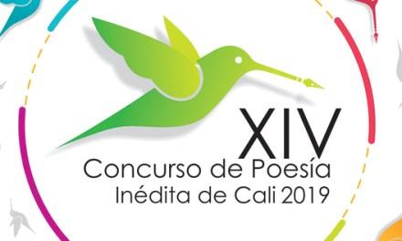 Abierta la convocatoria del Concurso de Poesía Inédita de Cali
