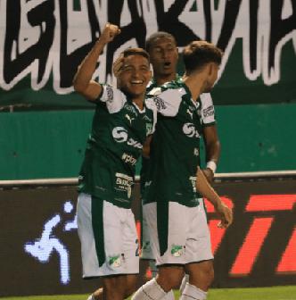 Deportivo Cali ganó 2 a 1 al Junior por la Copa Águila