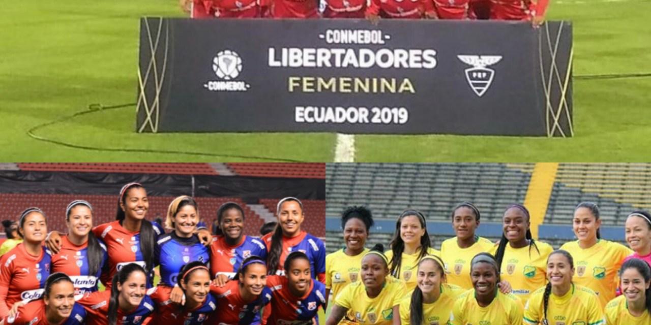 Buen arranque de los tres equipos colombianos en Copa Libertadores Femenina.