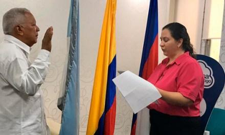 Luis Felipe González ya no es forastero, se nacionalizó colombiano