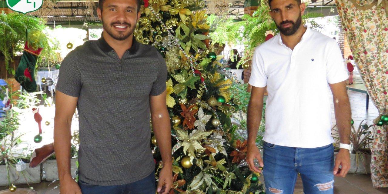 Hernán Menosse y Jesús Arrieta recorrieron las instalaciones de la Sede Campestre.