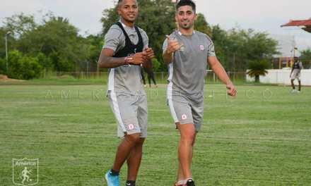 América de Cali realizó su segunda sesión de entrenamiento en la Sede Deportiva de Cascajal.