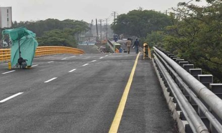 Hoy se hará la entrega oficial del puente de la carrera 100 con calle 25.