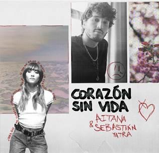 "Aitana estrena ""Corazón sin vida"" junto a Sebastian Yatra"