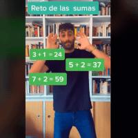 10 retos matemáticos de TikTok que te traerán de cabeza