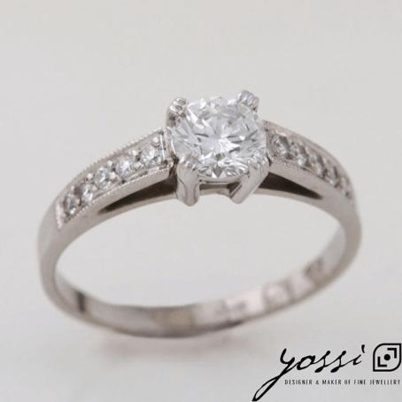 Astonishing Diamond & White Gold Engagement Ring 3