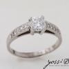 Astonishing Diamond & White Gold Engagement Ring 1