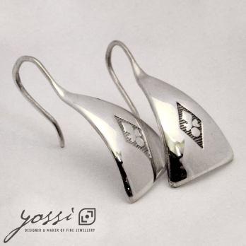 Baron Triangular Drop Earrings