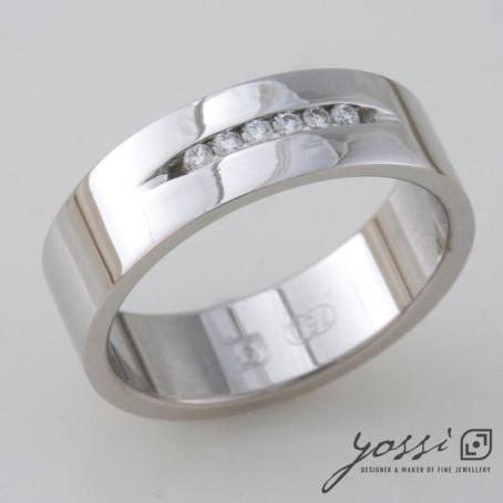 Angelic Diamond Engagement Ring 3