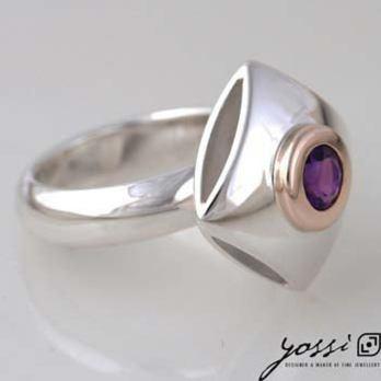 Captivating Amethyst Ring
