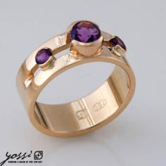 Shining Amethyst Ring