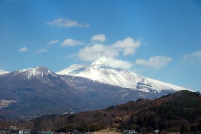 浅間山噴煙