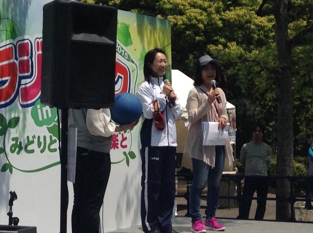 チャレンジドスポーツトークショー/ゴールボール