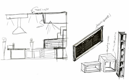 """""""APROPO"""" Sketches/Concept Development. All rights reserved to True Illusion Inc."""