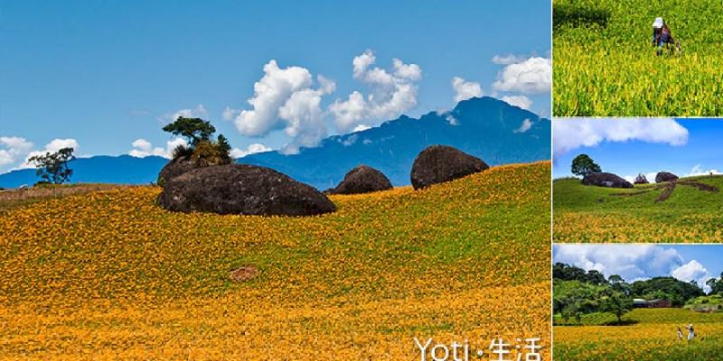 [花蓮玉里赤科山] 三巨石 | 赤科山最南端的三顆石頭, 赤科三景之一