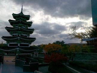 Pagoda Korea, pemandangan langka
