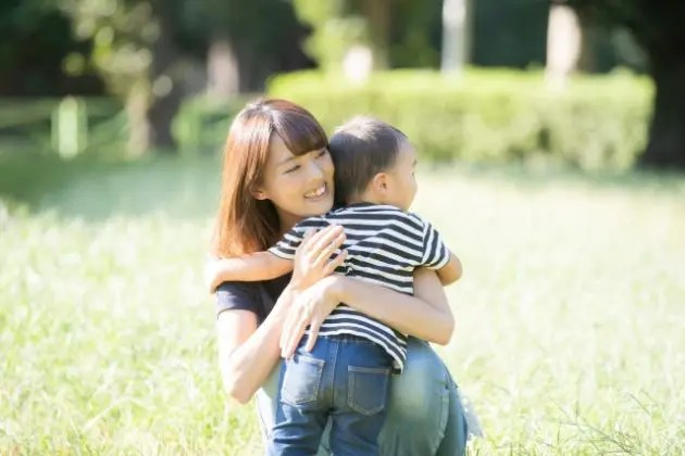 母親と子ども