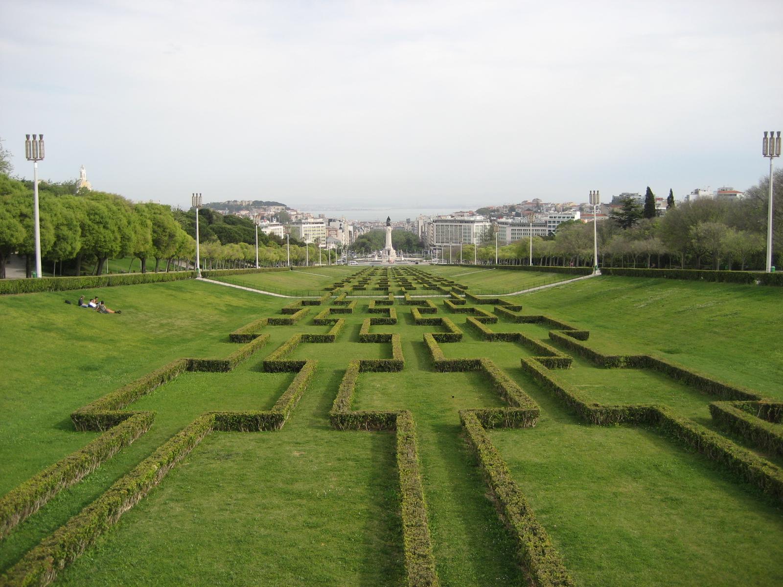 LISBOA – do Parque Eduardo VII LISBON, Portugal