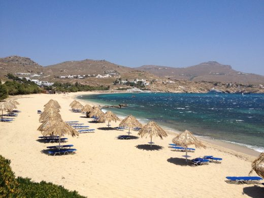 Mykonos, Kalafatis Beach, Greece