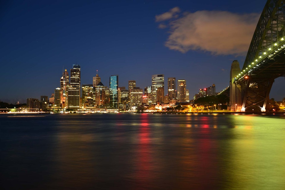 Milsons Point, Sydney, Australia, Harbour Bridge