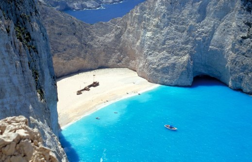 Navagio Beach, Zakynthos, Greece | 1000Straende.de