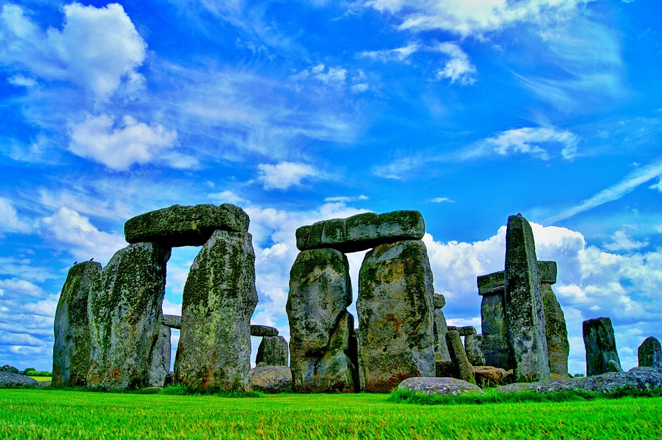 Stonehendge, Wiltshire, England,