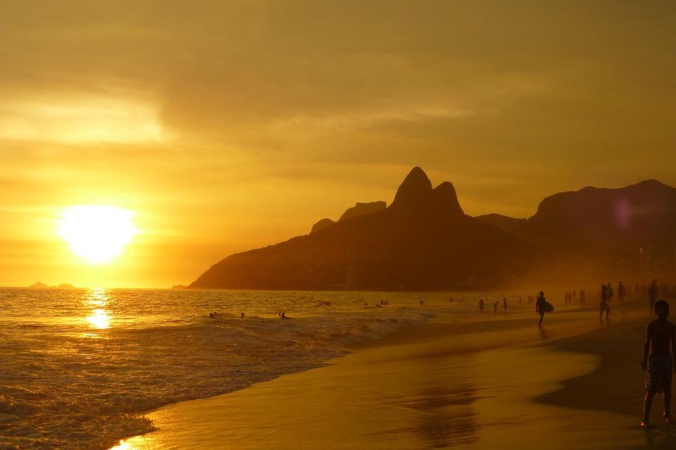 Ipanema Beach, Rio de Jaineiro, Brazil