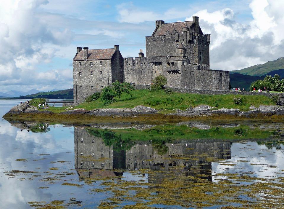 Eilean Donan, Highlands of Scotland, UK