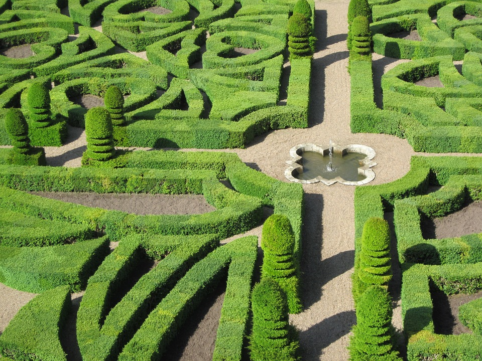 Château de Villandry Gardens, Loire, France