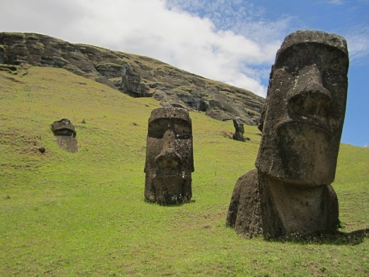 Easter Island is a Chilean island in the southeastern Pacific Ocean.