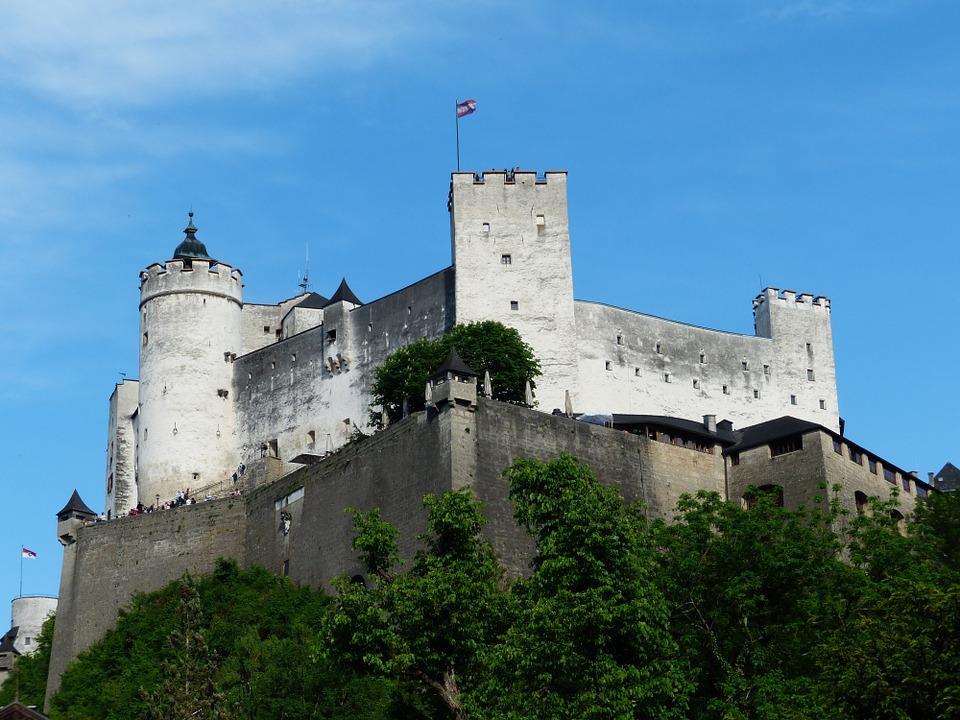 Hohensalzburg Castle, Salzbrg, Austria