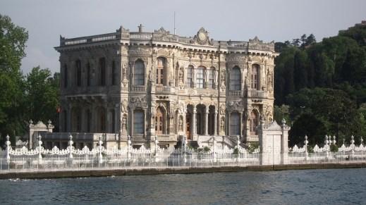 Göksu Pavilion is a summer palace in Istanbul, Turkey,