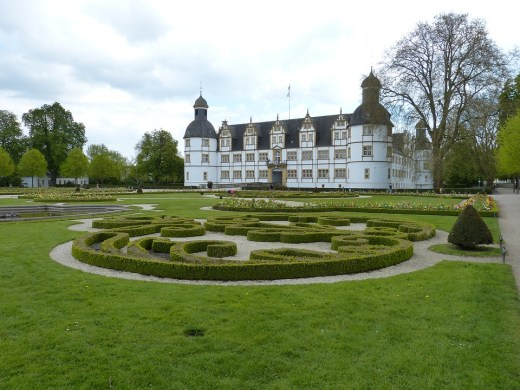 Neuhaus Castle in the Paderborn, Germany