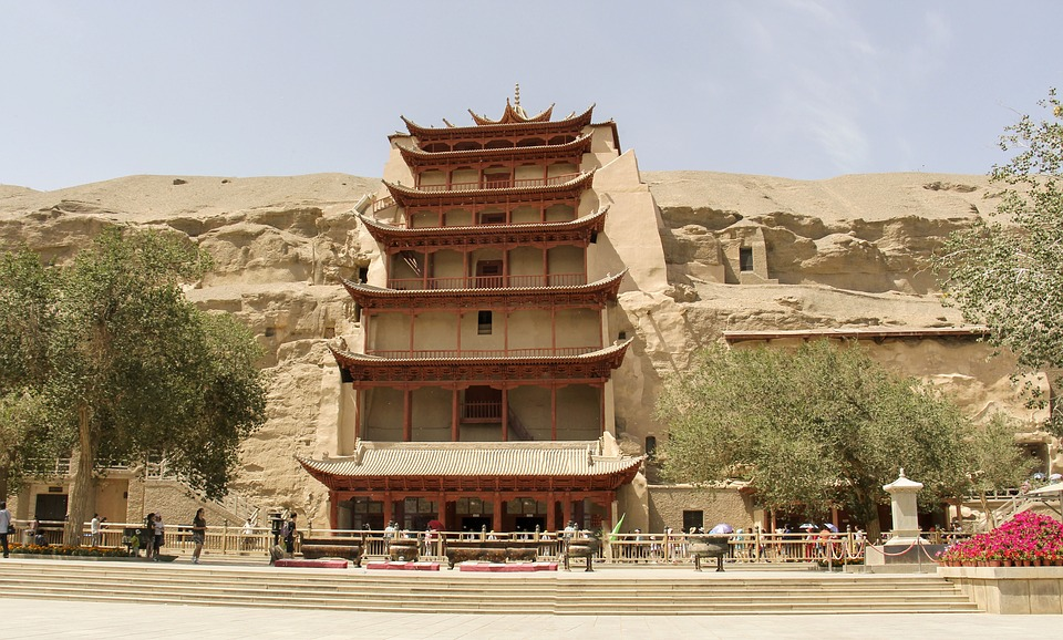 The Mogao Caves, Dunhuang, China