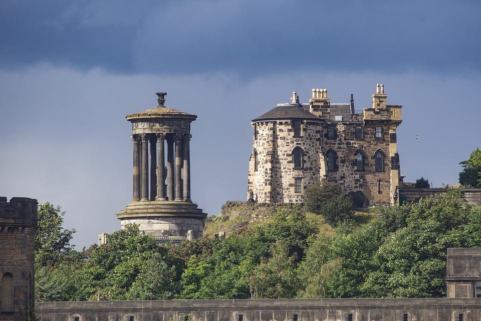 Calton Hill is a hill in central Edinburgh, Scotland