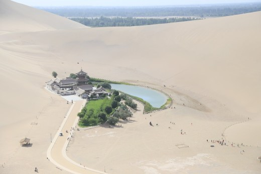 Dunhuang, Gansu Province, Western China.