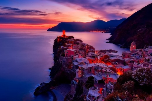 Vernazza, La Spezia, Liguria, Italy.