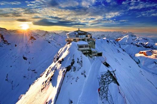 The Schilthorn, Switzerland