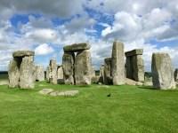 Stonehenge, Salisbury Plain in Wiltshire, England