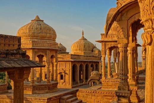 Bada Bagh, Rajasthan in India.