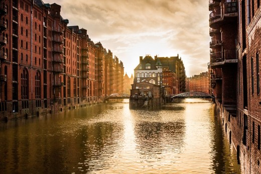 Steicherstadt Hamburg (Germany)